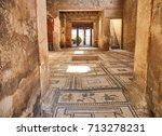 Mosaics At Entrance Of...