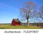 john neilson farmhouse in... | Shutterstock . vector #713297857