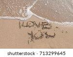 love on the sea | Shutterstock . vector #713299645