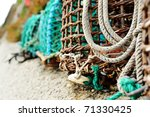 Crab Lobster Pots  Coastal...