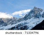 the peak of aiguille du midi ...
