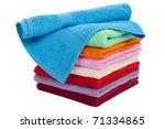 Clean Cotton Textile Towel...