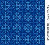 Vector Illustration Blue...