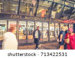 new york  usa   28 september ... | Shutterstock . vector #713422531