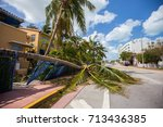 usa. florida. miami beach ... | Shutterstock . vector #713436385