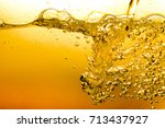 Bubbles In Water Oil Beer Gold...
