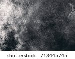 designed grunge texture and... | Shutterstock . vector #713445745