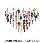 team symbol idea | Shutterstock . vector #71347372