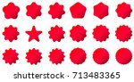 best for sale sticker  price... | Shutterstock .eps vector #713483365