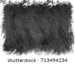 grunge background of black and... | Shutterstock . vector #713494234