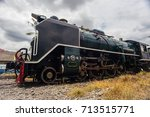a stream locomotive | Shutterstock . vector #713515771