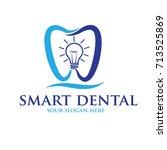 smart dent logo | Shutterstock .eps vector #713525869