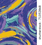 abstract painting background... | Shutterstock .eps vector #71352868