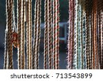 rope in sunshine | Shutterstock . vector #713543899