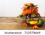 Thanksgiving Table Centerpiece...
