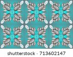 repeated texture for surface ... | Shutterstock . vector #713602147