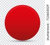 red button | Shutterstock .eps vector #713603029