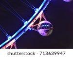 The Capsule Of A Ferris Wheel...