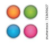 vector design element button | Shutterstock .eps vector #713650627