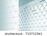abstract 3d illustration.... | Shutterstock . vector #713712361