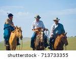 ulaanbaatar  mongolia   june 12 ... | Shutterstock . vector #713733355
