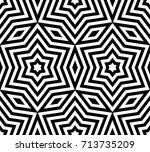 subtle geometric ornament... | Shutterstock .eps vector #713735209