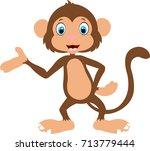monkey | Shutterstock .eps vector #713779444