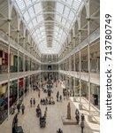 edinburgh  scotland   july 27 ... | Shutterstock . vector #713780749