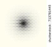 comic halftone background.... | Shutterstock .eps vector #713781445