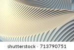 white stripe architectural... | Shutterstock . vector #713790751