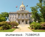 New Hampshire State Capitol...