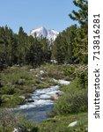 Small Creek In Eastern Sierra...