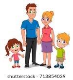 family  | Shutterstock .eps vector #713854039