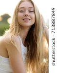 portrait photo session in a... | Shutterstock . vector #713887849