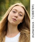 portrait photo session in a... | Shutterstock . vector #713887891