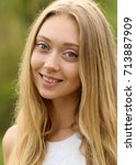 portrait photo session in a... | Shutterstock . vector #713887909