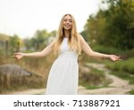 portrait photo session in a... | Shutterstock . vector #713887921