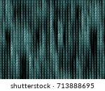generative block stream with...   Shutterstock .eps vector #713888695