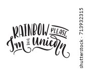 rainbow please i'm a unicorn...