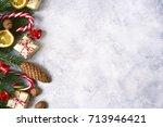 Light Christmas Background Wit...