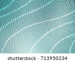 light blue vector doodle... | Shutterstock .eps vector #713950234
