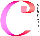 vector background text letter c | Shutterstock .eps vector #713970505