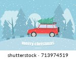 vector background with a... | Shutterstock .eps vector #713974519