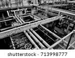 Factory With Pipes