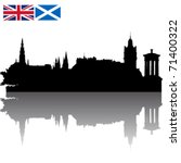 Black Vector Edinburgh...