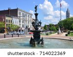 watertown  ny  usa   aug. 16 ... | Shutterstock . vector #714022369