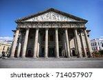 degollado theater  guadalajara  ...   Shutterstock . vector #714057907