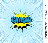 comic book page composition...   Shutterstock .eps vector #714061219