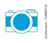 photographic camera icon | Shutterstock .eps vector #714080719