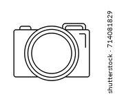 photographic camera icon | Shutterstock .eps vector #714081829